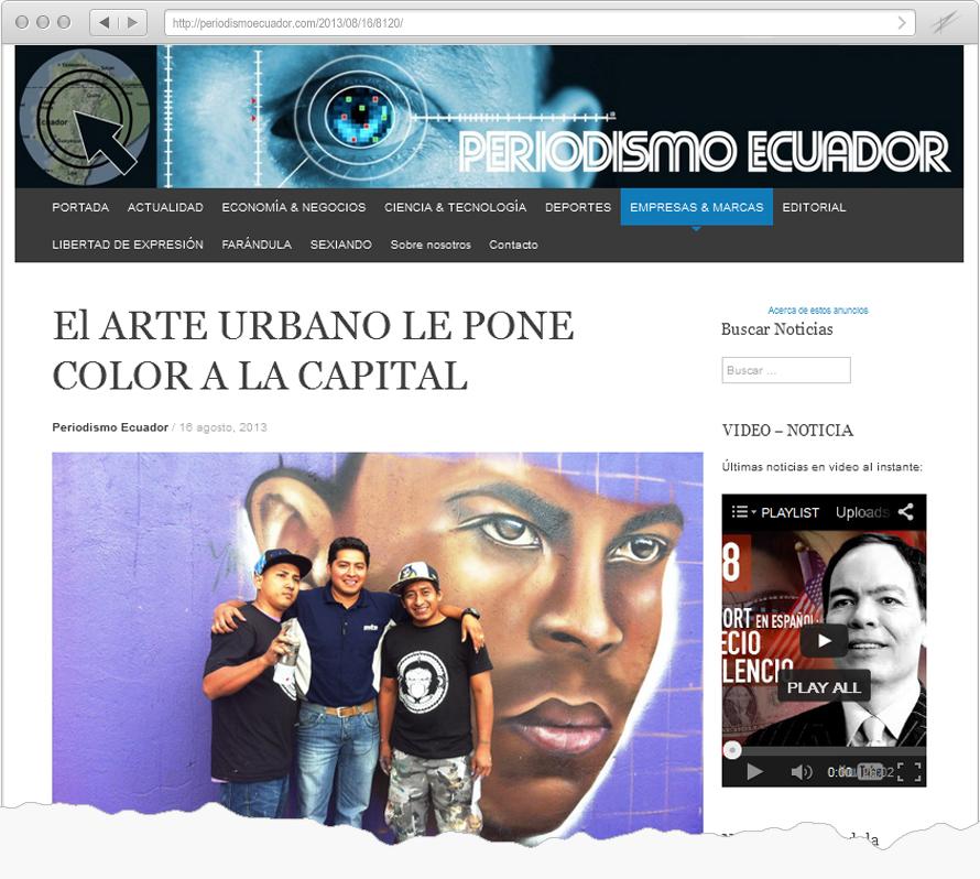 Periodismo Ecuador